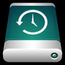 drive, back up, storage, machine, external, time, backup icon