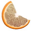 clementine, panel, grey icon