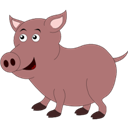 , Pig icon