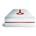 cranberry, hdd icon