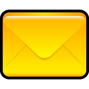 email, envelop, message, mail, letter icon