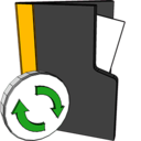 folder,refresh icon