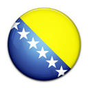 And, Bosnia, Flag, Herzegovina, Of icon