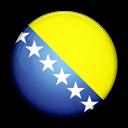 And, Bosnia, Flag, Herzegovina, Of icon