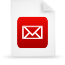 document, file, red, paper icon