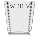 document, wmv, file, video, paper icon