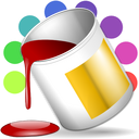 paint, color icon