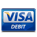 visa, debit icon