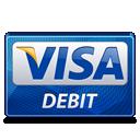 visa, debit icon