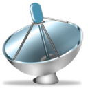 Antenna, Satellite icon