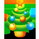 christmas,tree,plant icon