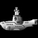 yellow, submarine icon