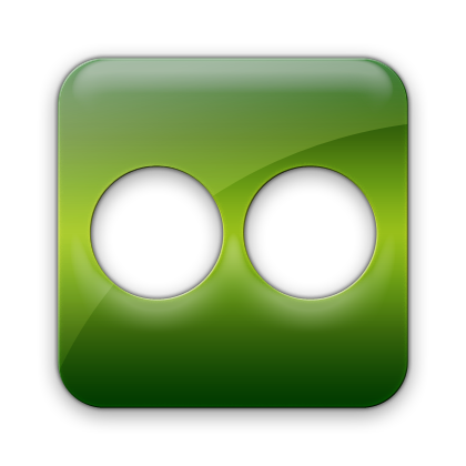 square, flickr icon