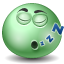 Emot, Sleeping icon