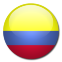 colombia,flag,country icon