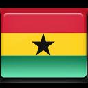 ghana, flag icon