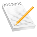 Notepad Bloc notes icon