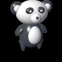 vista, panda icon