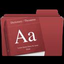 folder, dictionary icon
