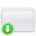 box, drop, folder icon