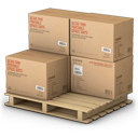 goods, warehouse, shipping, products, shipment, palet icon