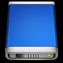 internal,drive,blue icon