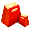 Bag, Empty, Shopping icon