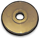 ancient,golden,cd icon