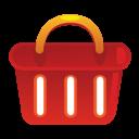 shopping basket, ecommerce icon