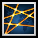 rockmelt,whiteframe icon
