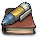 permanant,journal icon
