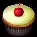 Cherry, Cupcakes, Vanilla icon
