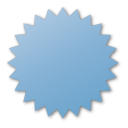 blue, label icon