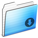 Drop, Folder, Stripe icon