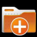 add, new, folder, plus icon