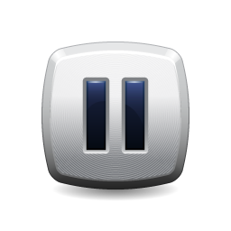 pause, button icon