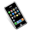 smartphone, iphone, mobile phone, cell phone icon