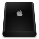 black,drive,external icon