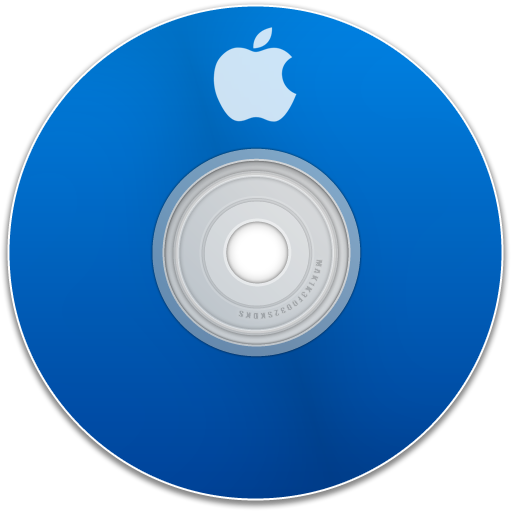 save, disc, disk, dvd, apple, cd, blue icon