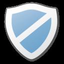 protect, blue, shield icon