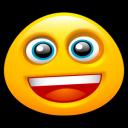 Grin, Smiley icon