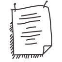 paper, texte, document, file icon