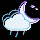 lightrain, night icon