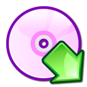 mount, cdwriter icon