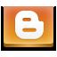 Blogger, Social icon