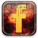 diablo, facebook icon