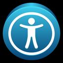 public, mac, universal, access icon