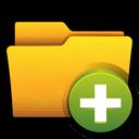 folder, open, win, add, clear icon