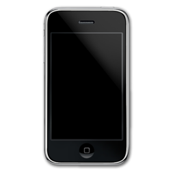 mobile phone, iphone, smartphone, front, cell phone icon