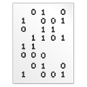 binary icon